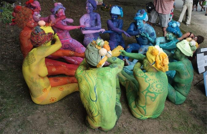 The world bodypainting festival event