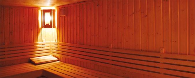 Art Deco sauna